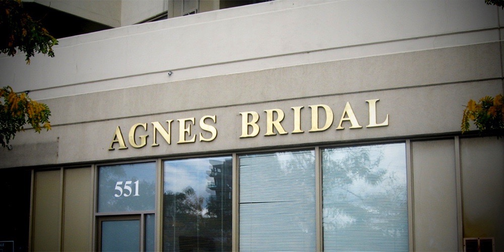 Bellmount Signs & Graphics. Project Agnes Bridal