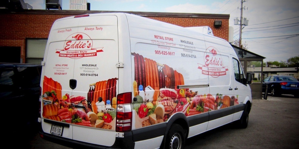 Bellmount Signs & Graphics. Project Eddies