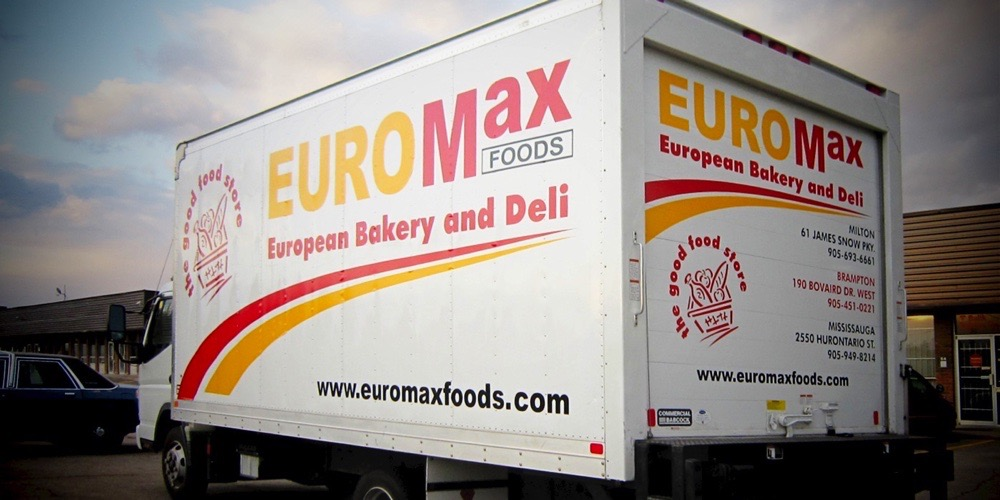 Bellmount Signs & Graphics. Project Euromax