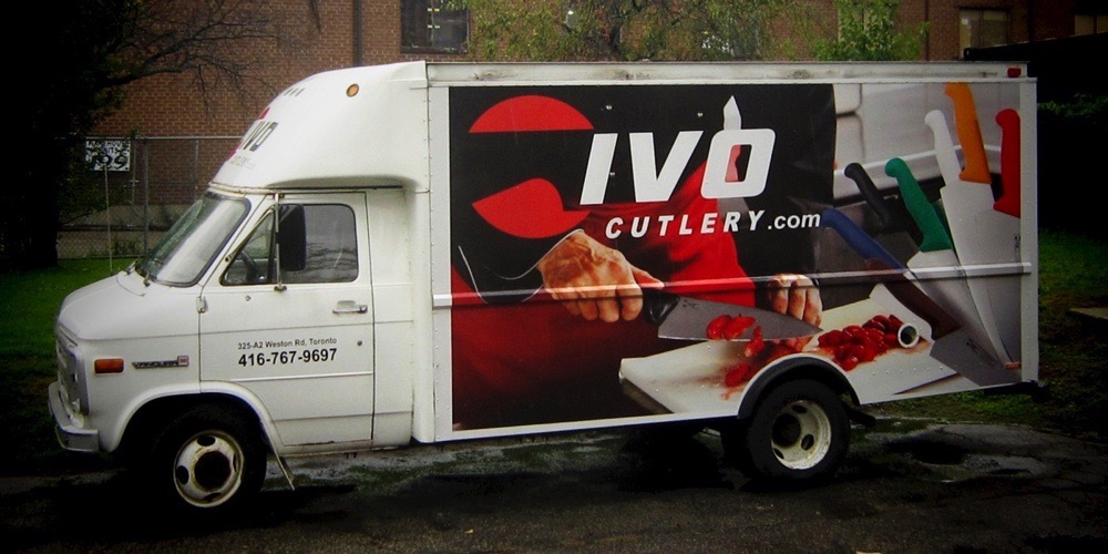 Bellmount Signs & Graphics. Project IVO