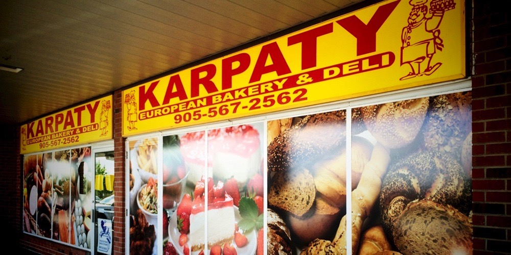 Bellmount Signs & Graphics. Project Karpaty