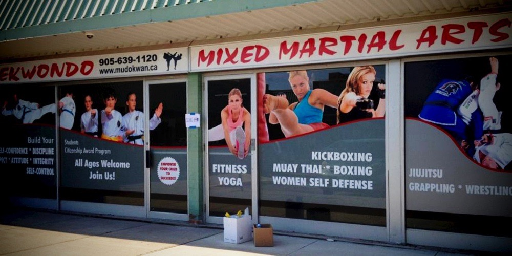 Bellmount Signs & Graphics. Project Taekwondo